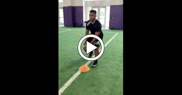 "Tua Tagovailoa Looks ""Shockingly"" Smooth in 1st Workout Video Since Injury"