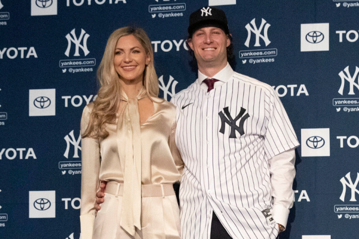 Gerrit Cole, Wife Announce Birth of Their Future MLB Ace