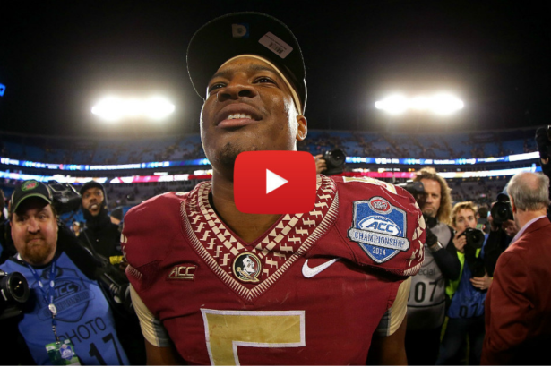 Jameis Winston's Greatest FSU Moments Shown in 4 Minutes