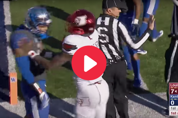 Lamar Jackson's Explosive Fight in College Showed Everyone His Toughness