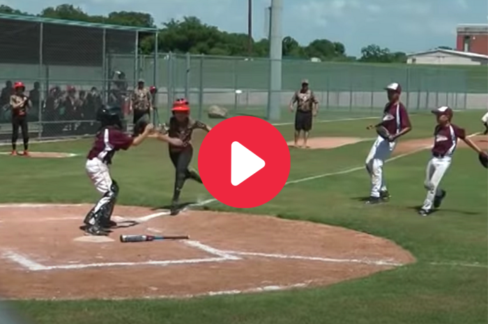 Little Leaguer Trucks Catcher, Gets Ejected Immediately