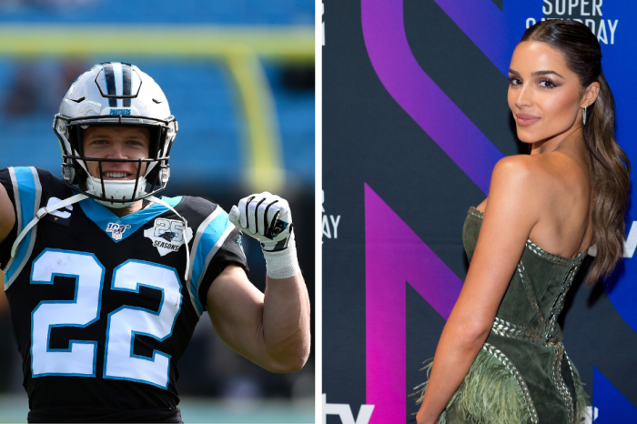 Christian McCaffrey's Girlfriend Graces Cover of SI's Swimsuit Issue