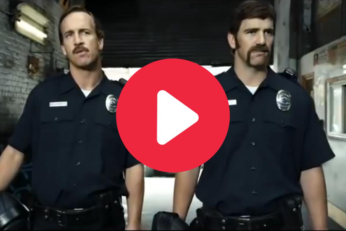 "Peyton & Eli Manning as ""Football Cops"" Deserves Endless Oscars"