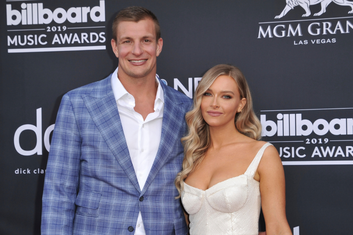 Rob Gronkowski's Girlfriend Went From NFL Cheerleader to Swimsuit Model