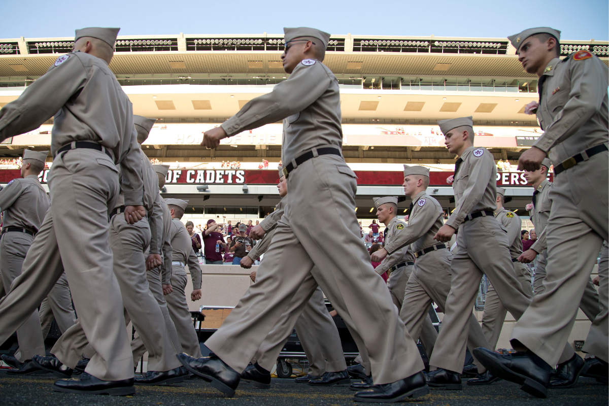 """Texas A&M's """"Elephant Walk"""" is a Senior Tradition Like No Other"""