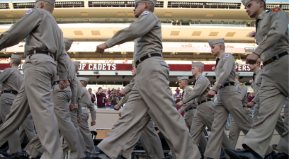 "Texas A&M's ""Elephant Walk"" is a Senior Tradition Like No Other"