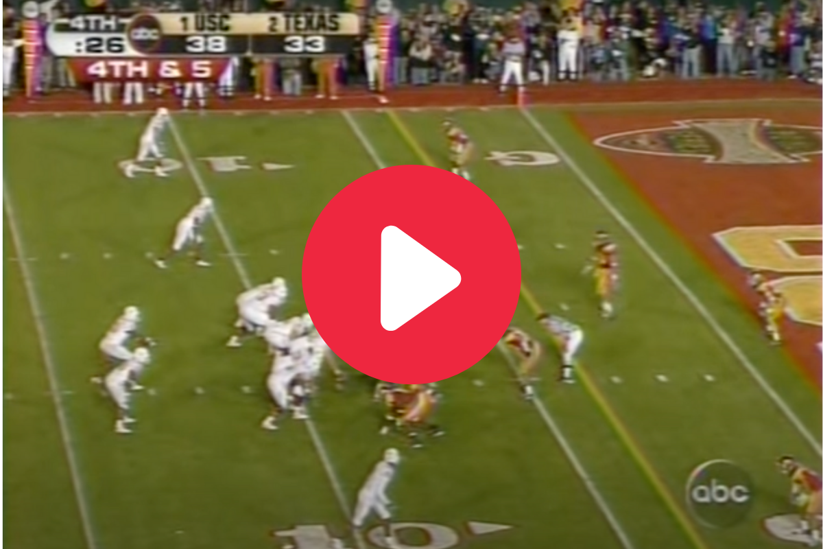 Texas vs. USC: Relive College Football's Wildest Title Game