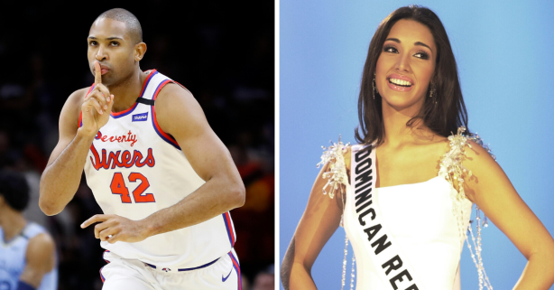 Al Horford Married Amelia Vega, The Tallest 'Miss Universe' of All Time