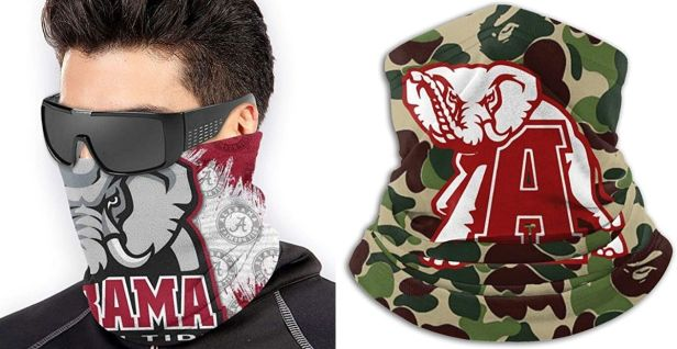 5 Face Masks for Devout Alabama Crimson Tide Fans