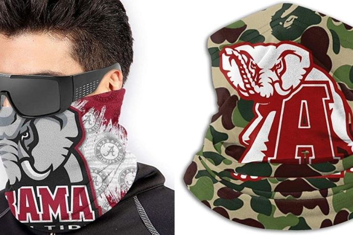 5 Face Masks for Devout Alabama Crimson Tide Fans