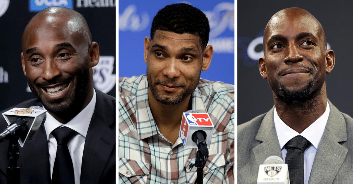 Kobe, Duncan, Garnett Headline 2020 Hall of Fame Class