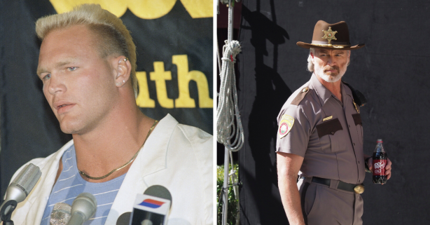 Remember Brian Bosworth? 'The Boz' Ditched Football For Hollywood