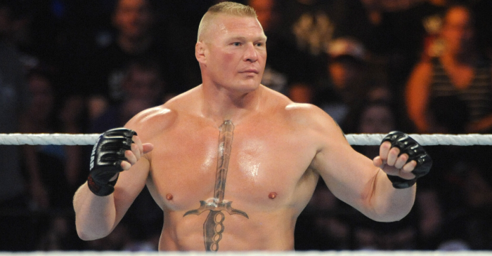 "Brock Lesnar's Sword Tattoo Brings ""The Beast"" Extra Motivation"