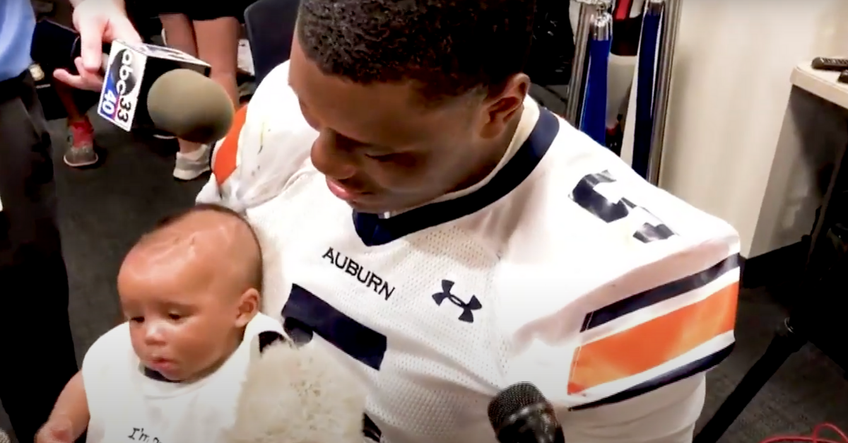 Derrick Brown's Growing Family Drives Him to Greatness
