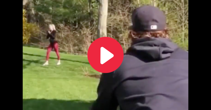 Gerrit Cole's Pregnant Wife Shows Off Her Wicked Fastball
