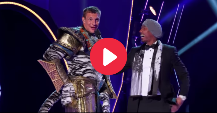 "Rob Gronkowski Performs ""I'm Too Sexy"" on 'The Masked Singer'"