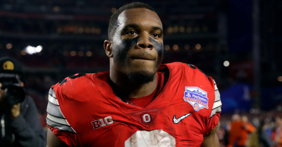 J.K. Dobbins' Father Died In Prison Before He Starred At OSU