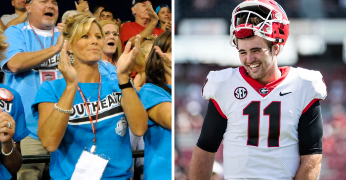 "Jake Fromm Thanks Mom For Being ""Anchor"" of Their Family"