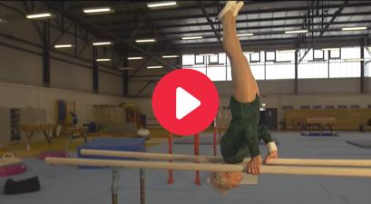 Johanna Quaas, Gymnast