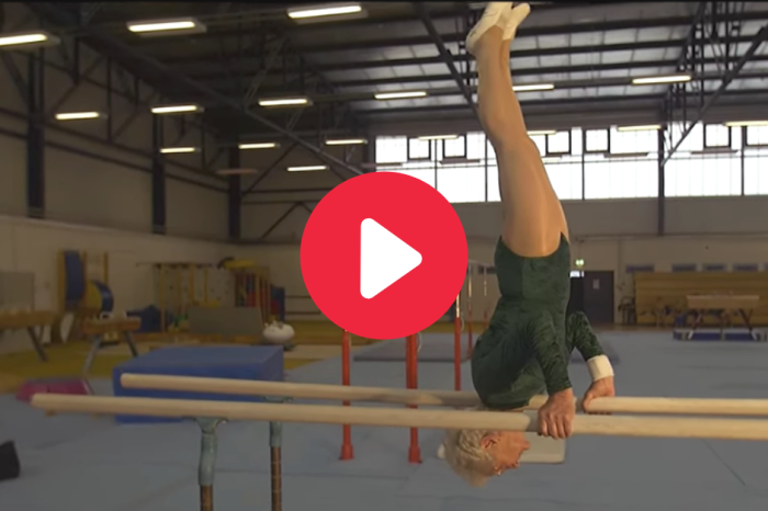 94-Year-Old Gymnast Proves She's More Athletic Than We Are