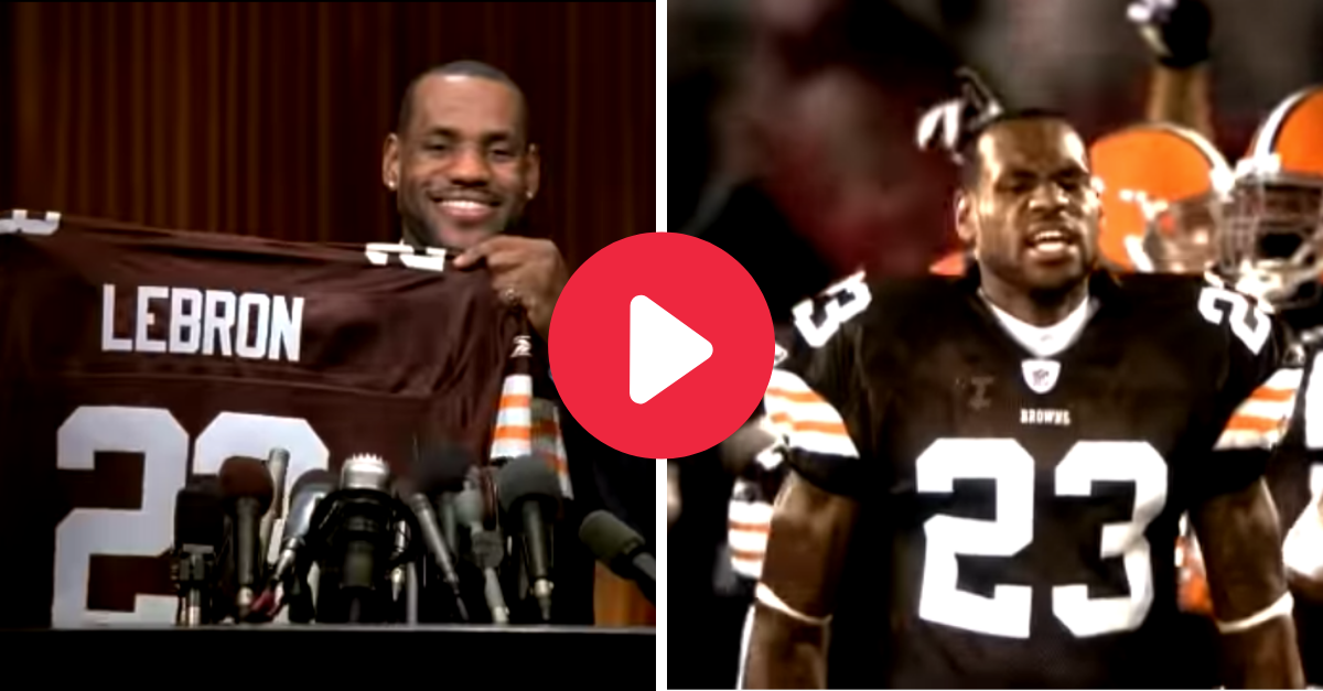 LeBron James Wins Super Bowl for Cleveland Browns in Classic Commercial