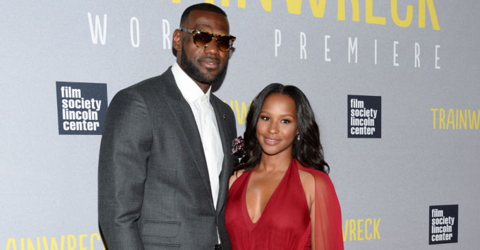 LeBron James' Wife Stole His Heart Back in High School