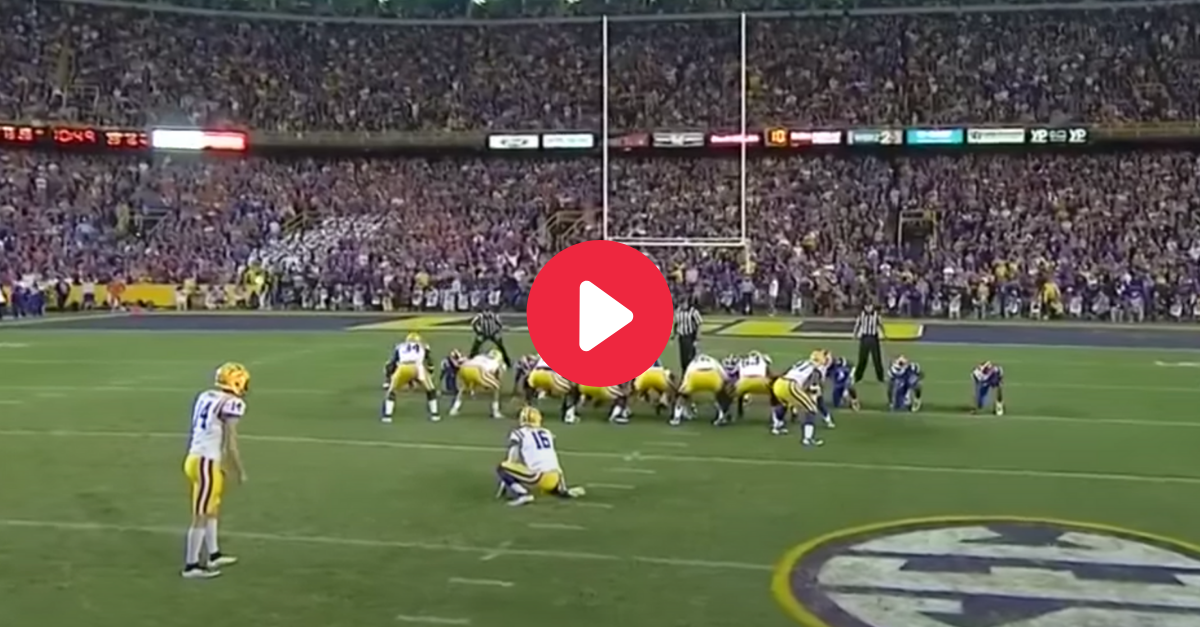 "LSU's Fake Field Goals Made Les Miles ""The Mad Hatter"""