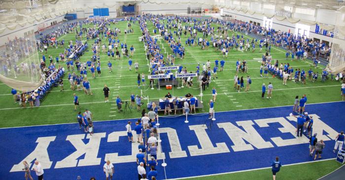Kentucky Turning Football Facility Into 400-Bed Hospital