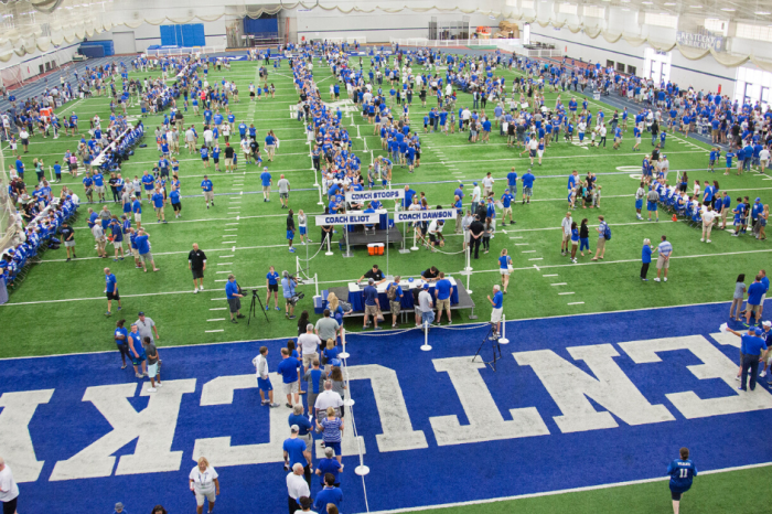 Kentucky Turning Football Facility Into 400-Bed Hospital