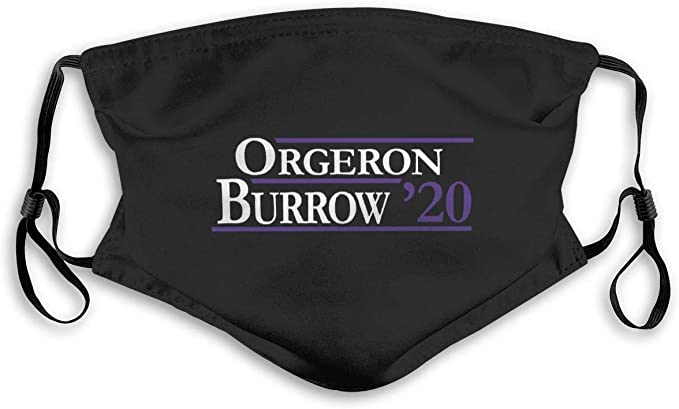 Orgeron Burrow 2020 Outdoor Anti-dust mask Womans&Men