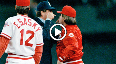 Pete Rose Pushed an Umpire and Fans Threw Trash Everywhere
