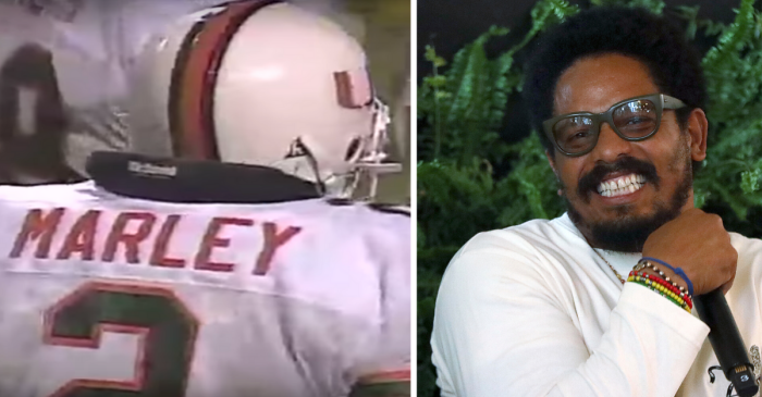 Bob Marley's Son Played Linebacker Next to Ray Lewis