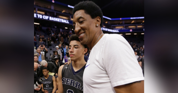 Scottie Pippen's Son Ready to Build on All-SEC Freshman Season