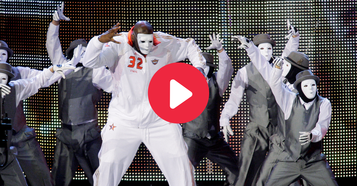 Shaq & The Jabbawockeez Dance Together to Create All-Star Magic