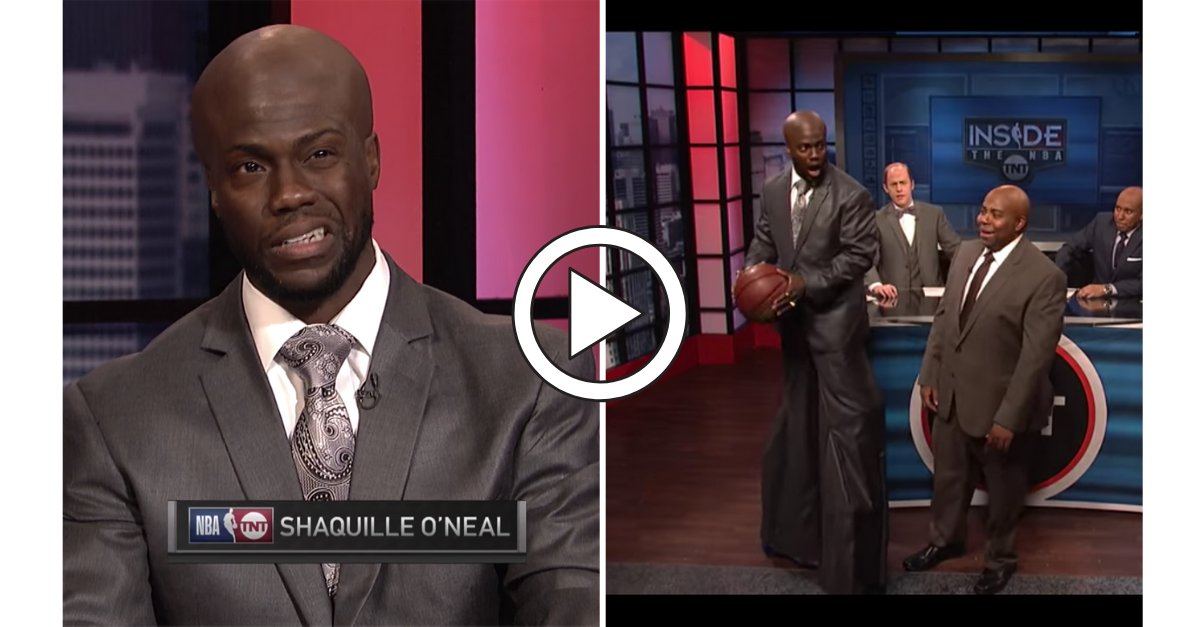 Kevin Hart Used Stilts to Impersonate Shaq in Hilarious SNL Skit