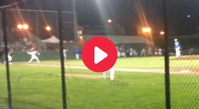 Batter Throws Bat At Pitcher After Getting Plunked