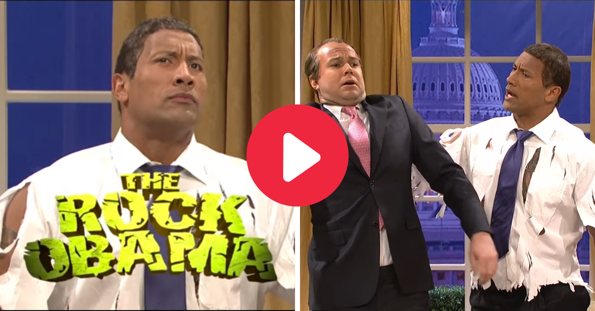 'The Rock' Obama Replaces Barack for SNL Gold