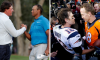 Tiger-Peyton, Phil-Brady Golf Match