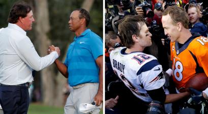 Tiger-Manning vs. Phil-Brady Set for Televised Golf Match