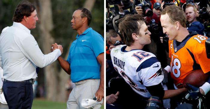 Tiger-Manning vs. Phil-Brady Set for Televised Golf Match