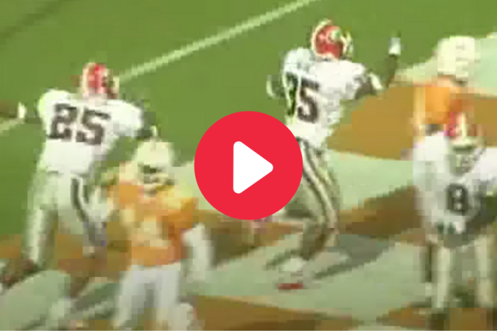 "Larry Munson's ""Hobnail Boot Game"" Call Still Gives Us Goosebumps"