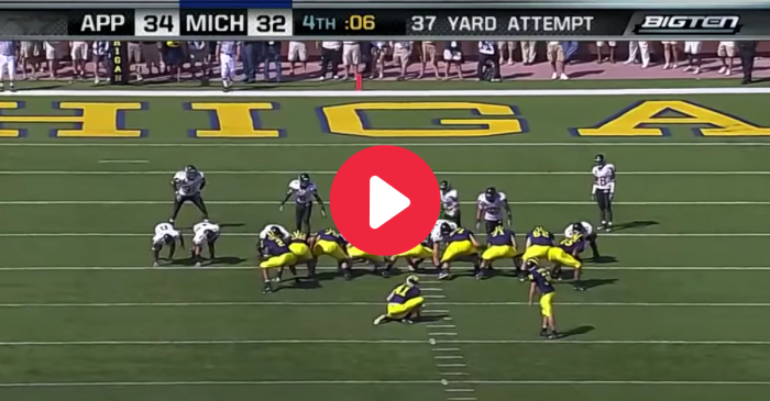 "App State's Upset Over Michigan Rocked ""The Big House"" Like Never Before"