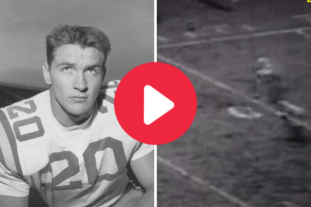 "Billy Cannon's ""Halloween Run"" Locked Up LSU's First Heisman"