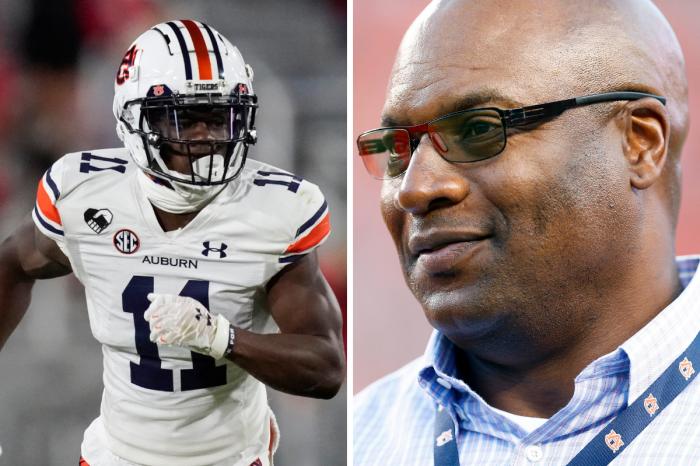 Bo Jackson's Nephew Could Be Auburn's Next Breakout Wide Receiver
