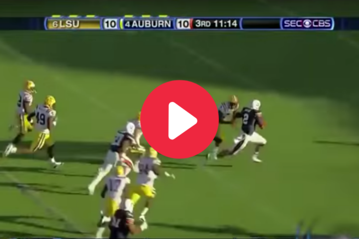 "Cam Newton's ""Heisman Moment"" Helped Auburn Topple LSU"