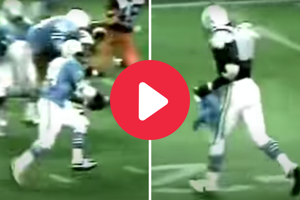 """Earl Campbell's Jersey-Ripping Run Made Him """"The Human Wrecking Ball"""""""