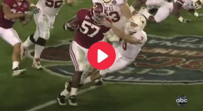 Marcell Dareus' Pick-Six Sealed Alabama's National Title