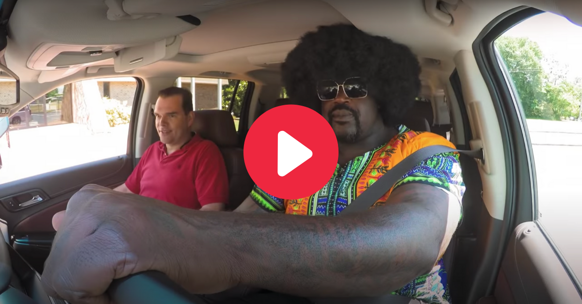 Shaq Goes Undercover as Lyft Driver to Hilariously Prank Passengers