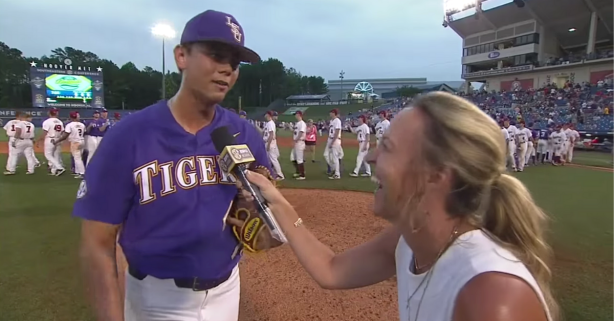 """Todd """"Go Yard"""" Peterson's Postgame Interview Will Live Forever"""