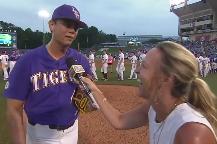 "Todd ""Go Yard"" Peterson's Postgame Interview Will Live Forever"